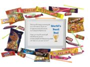 World's Best Dad Sweet Box-Great present for Birthday, Christmas or just because?