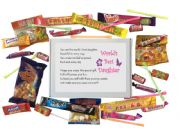 World's Best Daughter Sweet Box-Great present for Birthday, Christmas or just because?