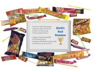 World's Best Grandson Sweet Box - Great Gift for all occasions!